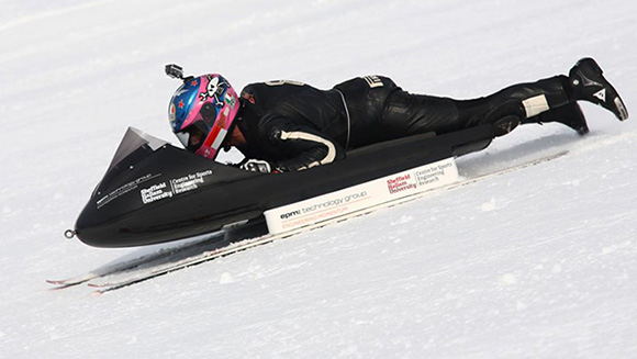Video: Watch Guy Martin speed to sled world record