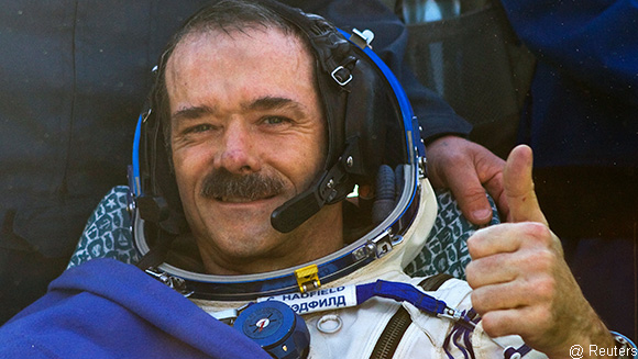 Record holder Q&A: Put your questions to singing spaceman Chris Hadfield