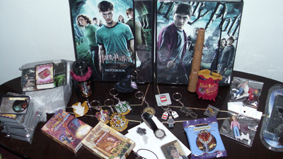 Harry Potter memorabilia collection broken with more than 3,000 items