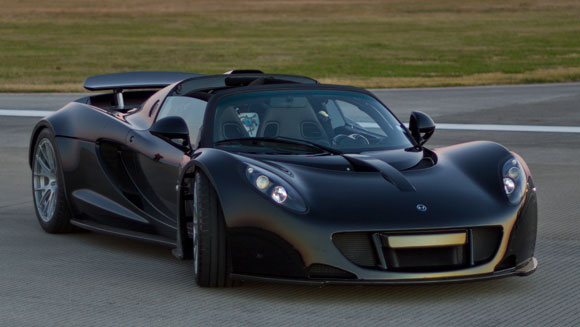 Video: Watch Hennessey Venom GT supercar smash world record for acceleration