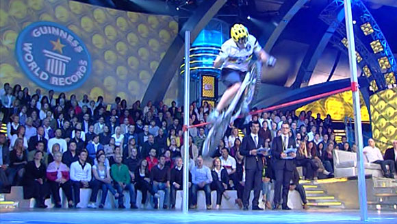 Guinness World Records Classics: Highest bunny hop on a bicycle