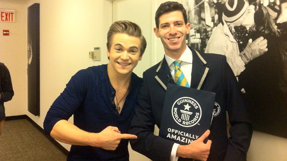 Hitting the road with Hunter Hayes