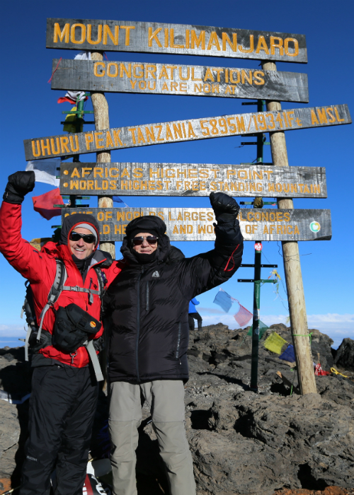Oldest male to summit Mount Kilimanjaro 5