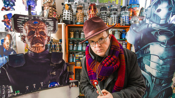 Meet Ian O'Brien - owner of the largest collection of Doctor Who memorabilia