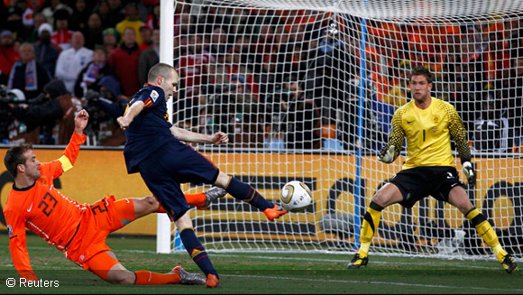 World Cup Rewind: Andres Iniesta plays the hero with last-ditch goal at South Africa 2010