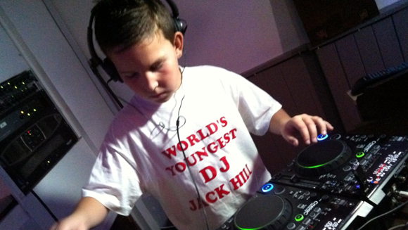 Record holder profile video: Jack Hill - The World's Youngest Club DJ
