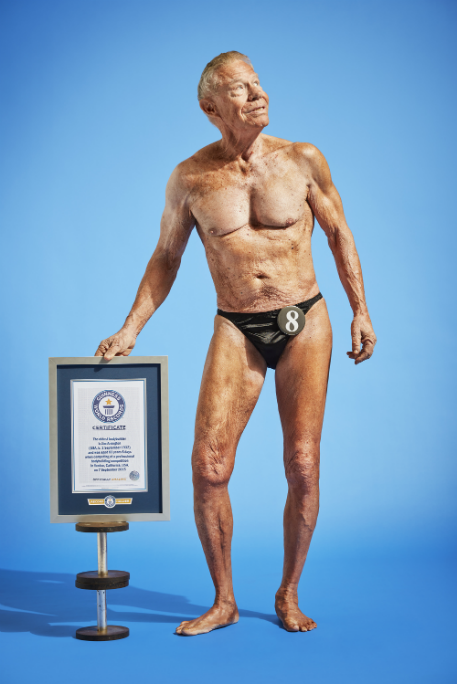 Jim Arrington, the man holding the record for the oldest bodybuilder