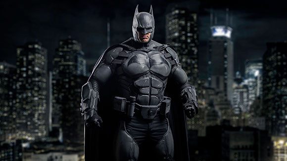 Video: Batman cosplay suit with 23 functioning gadgets earns owner place in the new Guinness World Records 2017 Gamer's Edition