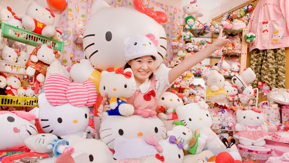Meet Asako Kanda - owner of the world's largest collection of Hello Kitty memorabilia - video