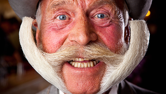 HAPPY MOVEMBER! MOUSTACHE CHAMPION KARL-HEINZ HILLE MAKES IT INTO GUINNESS WORLD RECORDS™ 2014 BOOK
