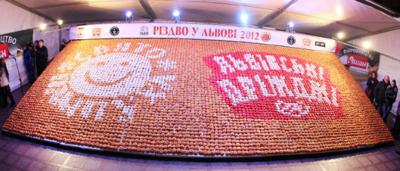 Largest Doughnut Mosaic Guinness World Records