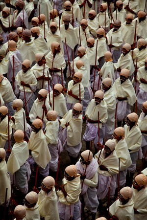 Largest gathering of people dressed as Gandhi 2.jpg