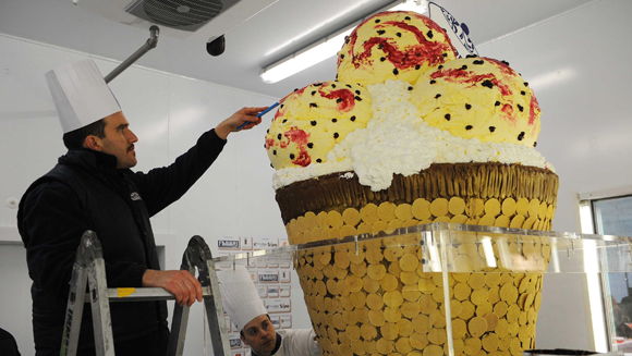 The ice cream cone turns 110, celebrate with these five record scoops