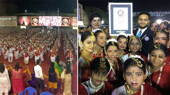 Thousands take part in world's largest Bharatha Natyam dance in India