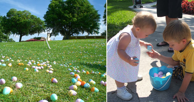 Largest Easter egg hunt