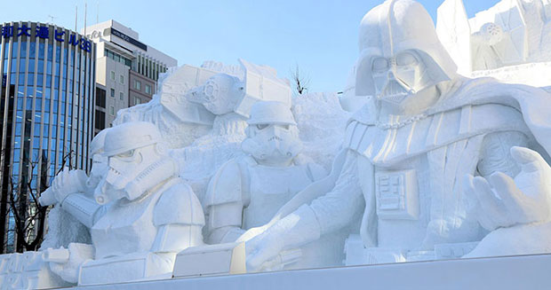Largest Star Wars sculpture