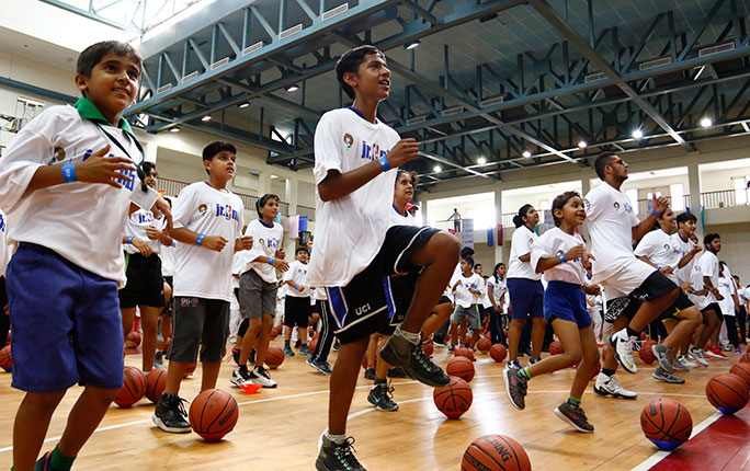Largest basketball lesson India