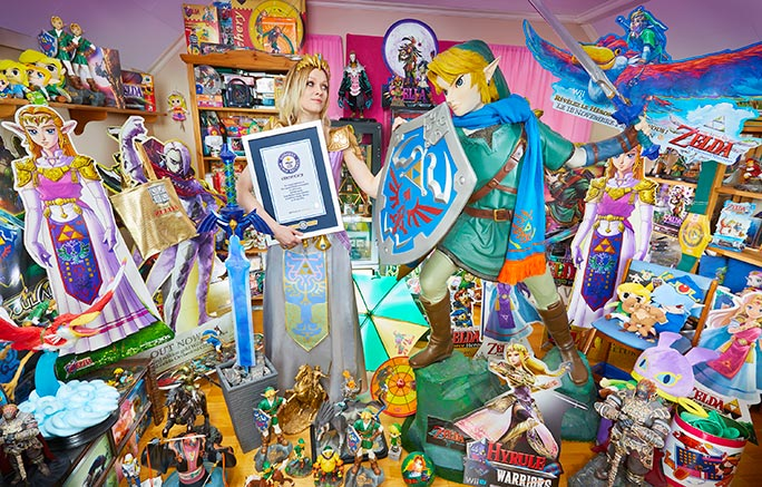 Largest collection of The Legend of Zelda memorabilia Norway