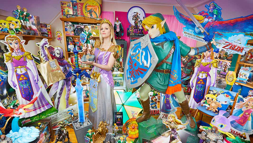 Video: Check out the largest collection of Legend of Zelda memorabilia