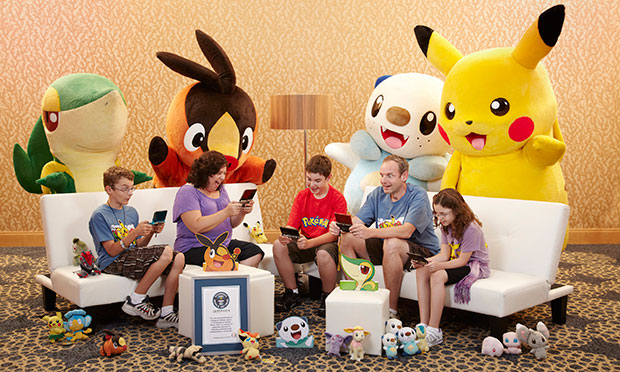 Largest competitive Pokemon videogame family
