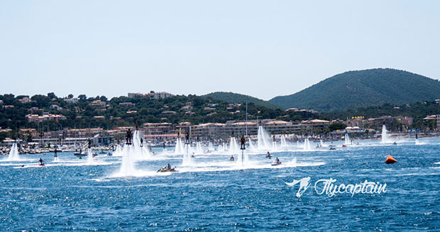 Largest formation of water jet packs