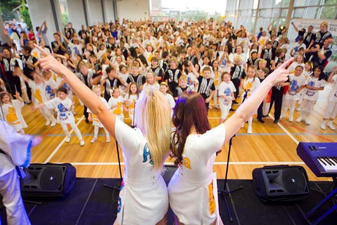Largest gathering of ABBA impersonators