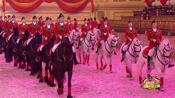 Guinness World Records Classics: Largest horse dressage