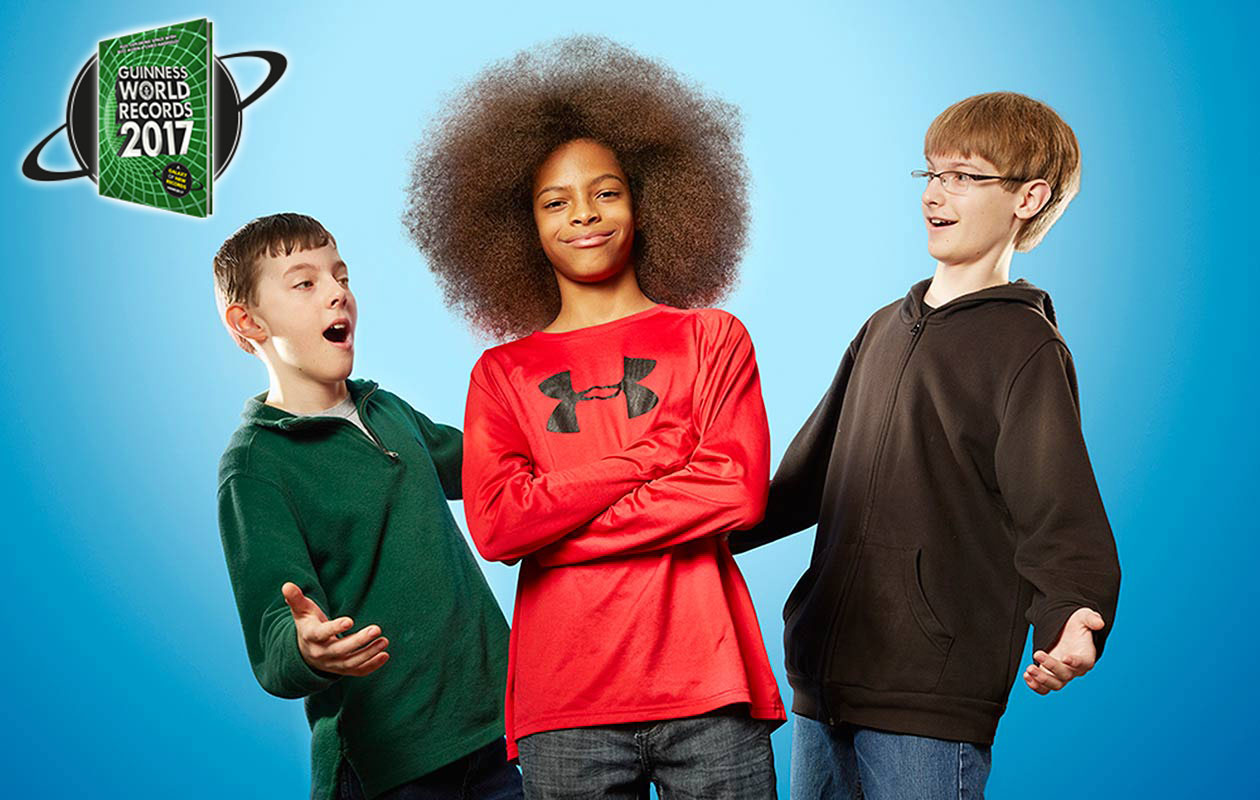 Thirteen Year Old Boy Grows Largest Afro To Get Into Guinness World Records Book