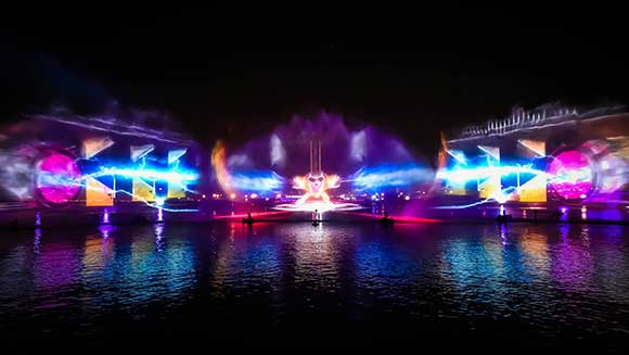 Dubai Festival City launches spectacular projection mapping to set new record