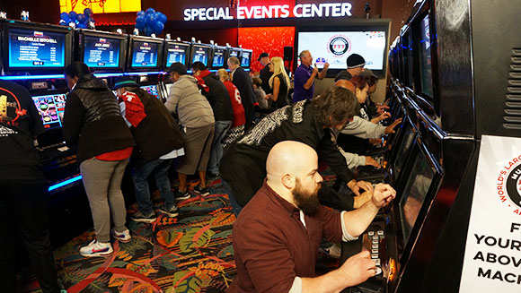 Casino in Washington State breaks record for largest slot machine tournament
