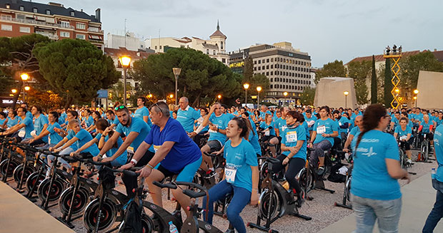 Largest static cycling class Spain