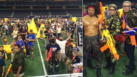 Record-breaking NERF Battle in Texas benefits local charities