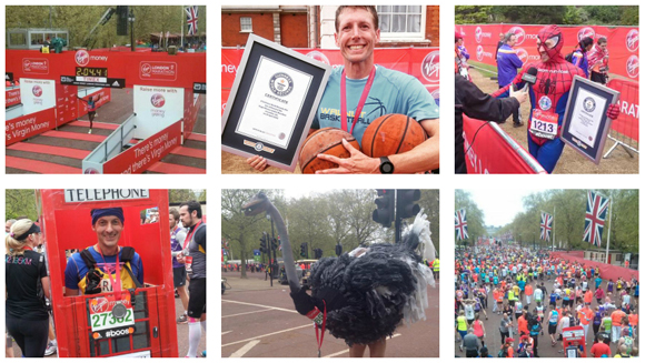 Running the Virgin Money London Marathon 2016? Find out how you could be a world record holder