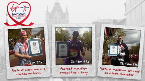 New world records at Virgin London Marathon 2012