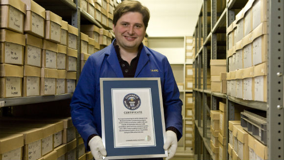 Museum of London awarded Largest archaeological archive title