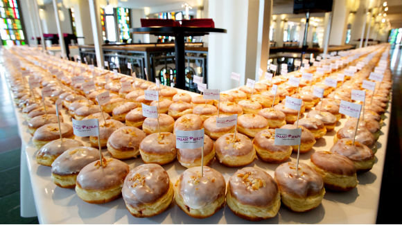 A great day for doughnuts as America celebrates National Donut Day