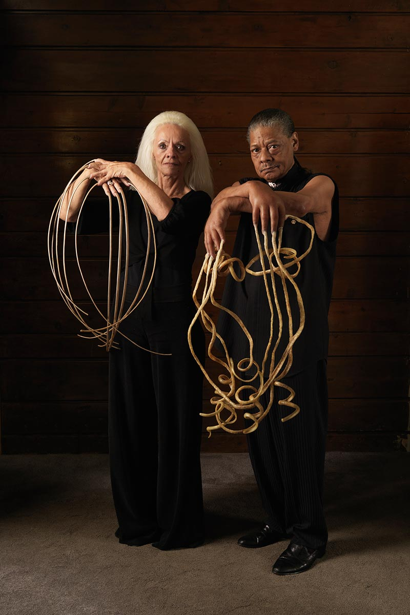 Longest fingernails male and female