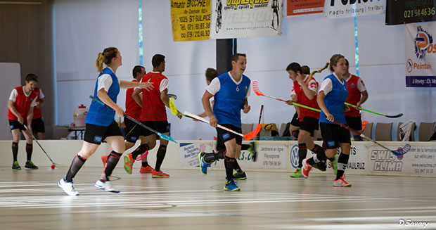 Longest marathon playing floorball attempt