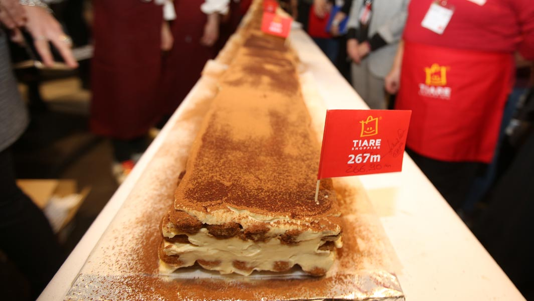 This is the recipe needed to make the world's longest tiramisu