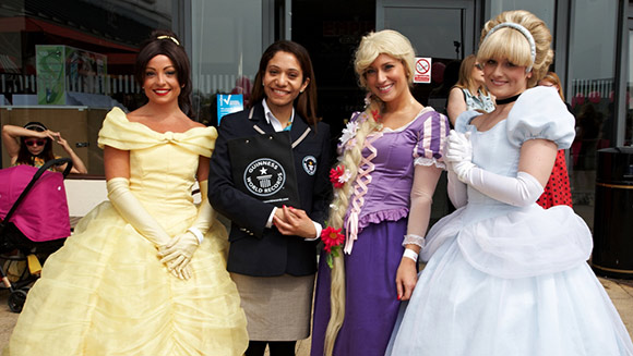 Record-breaking gathering of people dressed as princesses mark release of Disney's Maleficent