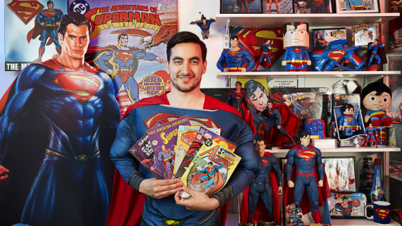 Largest collection of superman memorabilia 4