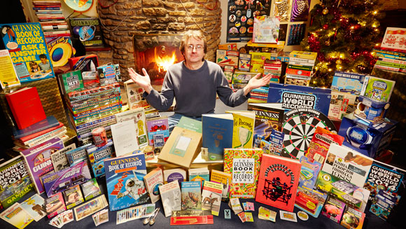 Christmas comes early for Guinness World Records superfan Martyn Tovey