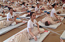 And relax! Largest Massage Lesson world record set in Moscow