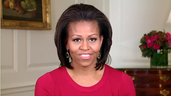 Michelle Obama helps break jumping jacks world record: Watch her video message