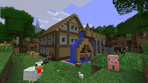 The Biggest House In The World In Minecraft minecraft: ten of the best block-busting world records | guinness