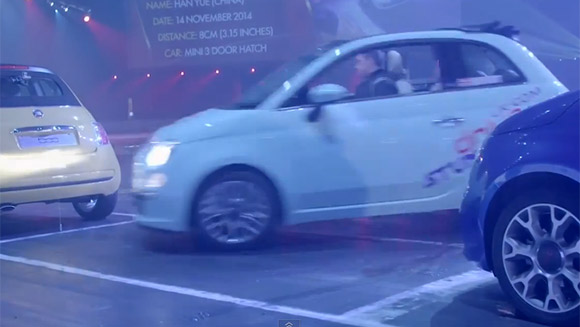 Confirmed: Alistair Moffatt reclaims tightest parallel parking world record with Fiat 500 stunt - watch