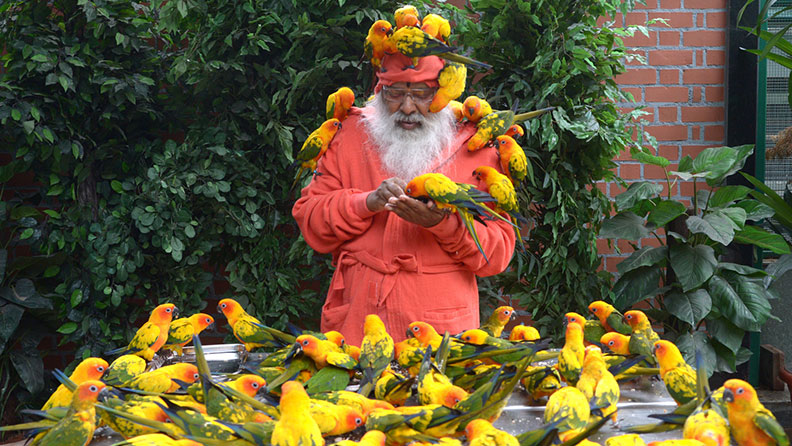 "_________ in Mysuru has set the record of ""Most bird species in an aviary"" certified by Guinness World Records. - Shukavana"