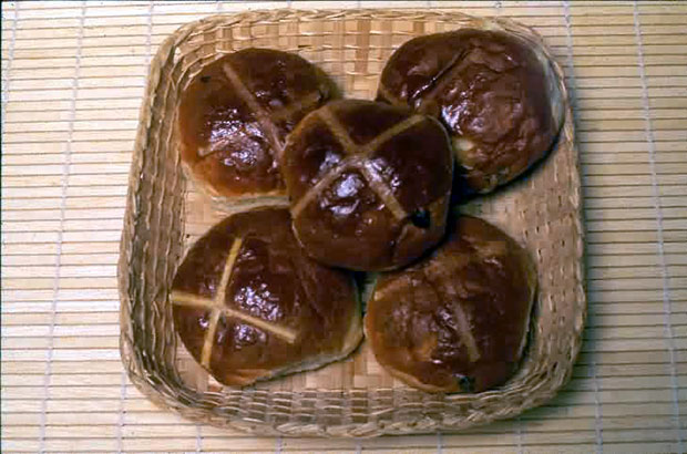 Most expensive hot cross bun