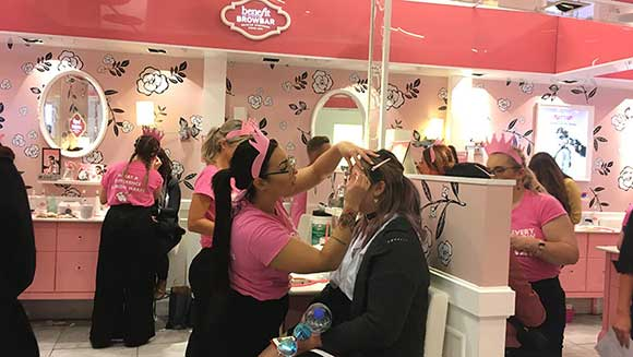 Benefit Cosmetics Australia breaks eyebrow waxing world record for charity