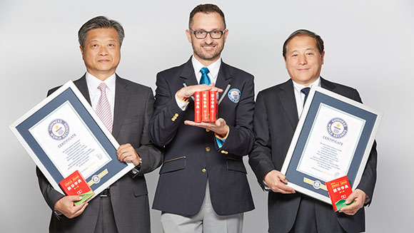 Guinness World Records awards Chinese publishers with record certificates for best-selling dictionary